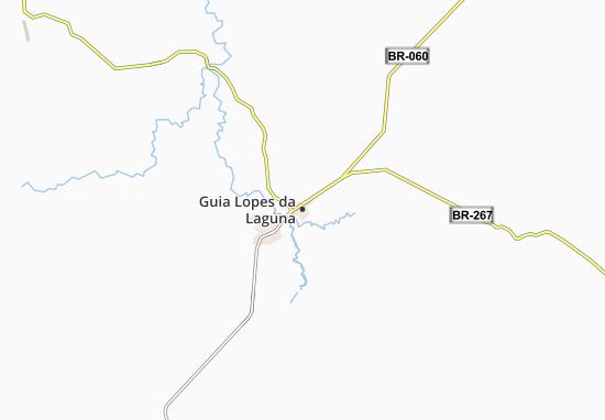 Guia Lopes da Laguna Map