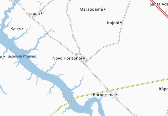 Novo Horizonte Map