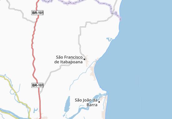 Mappe-Piantine São Francisco de Itabapoana