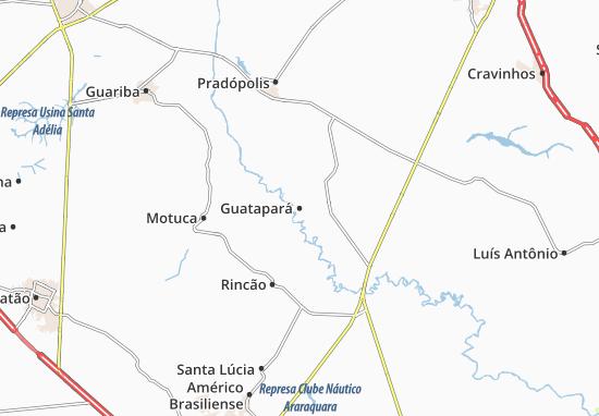 Carte-Plan Guatapará
