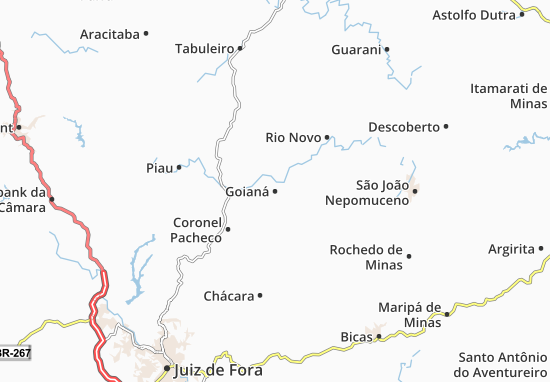 Mappe-Piantine Goianá