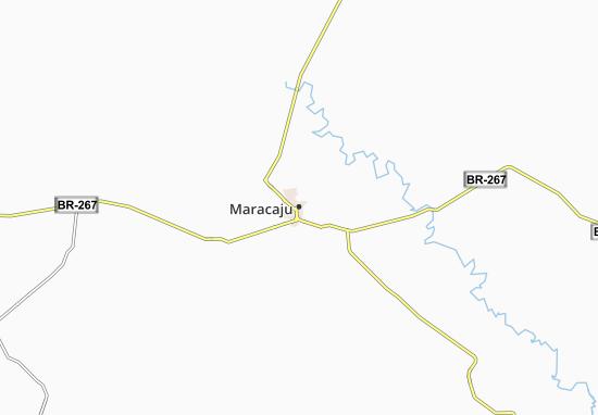 Maracaju Map