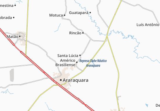 Carte-Plan Santa Lúcia