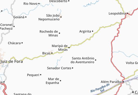 Carte-Plan Maripá de Minas