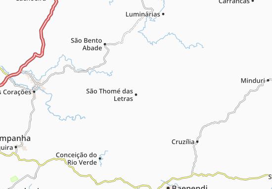 Mapa Plano São Thomé das Letras