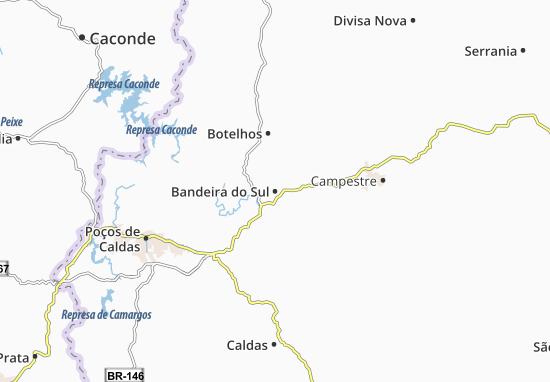 Mappe-Piantine Bandeira do Sul