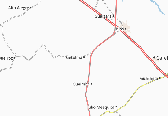 Carte-Plan Getulina