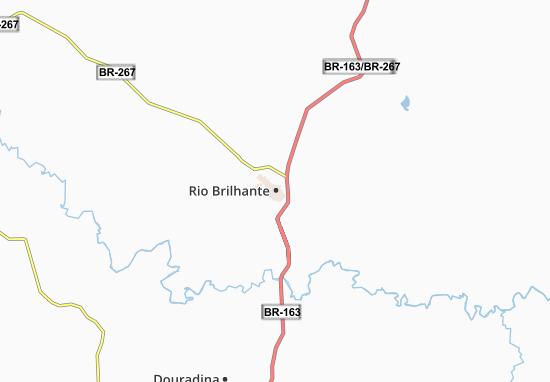 Mappe-Piantine Rio Brilhante
