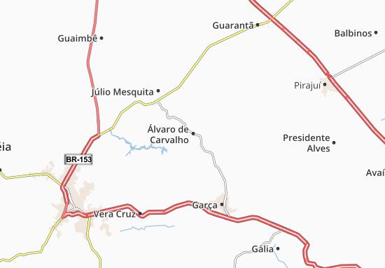 Carte-Plan Álvaro de Carvalho