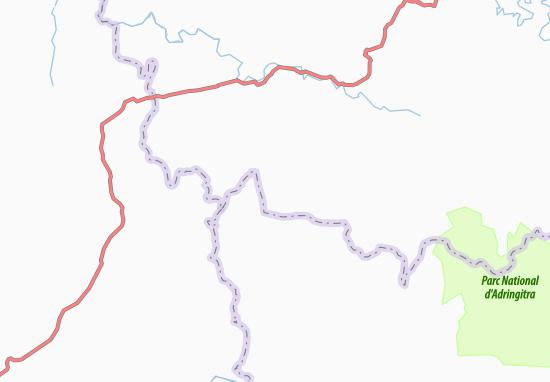 Carte-Plan Soaseranana