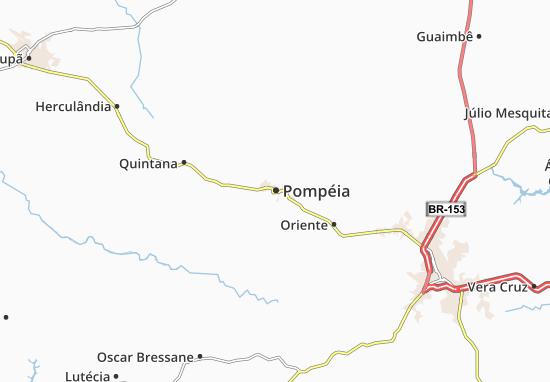 Carte-Plan Pompéia