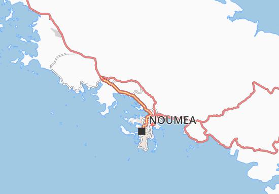 Mapa Plano Dumbea