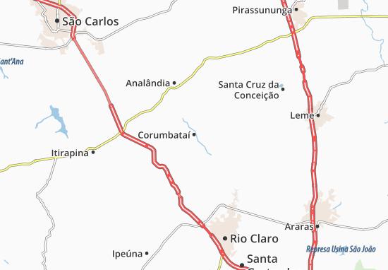 Carte-Plan Corumbataí