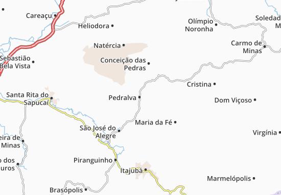 Carte-Plan Pedralva