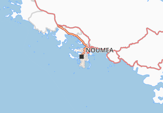 Noumea Map