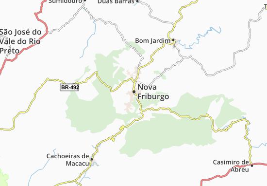 Mapas-Planos Nova Friburgo