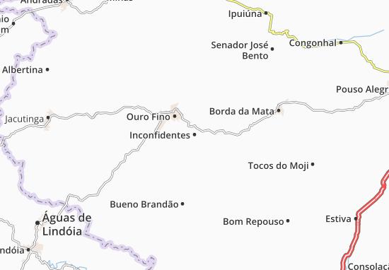 Inconfidentes Map