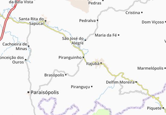 Carte-Plan Piranguinho
