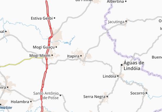 Itapira Map