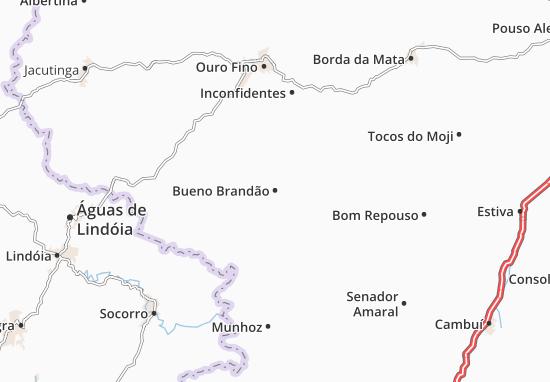 Bueno Brandão Map