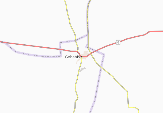 Carte-Plan Gobabis