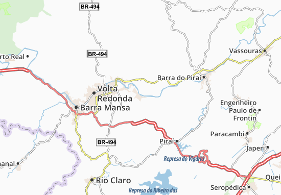 Carte-Plan Pinheiral