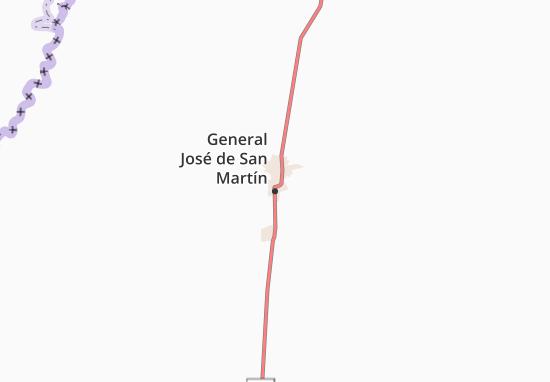 Mapa Plano General José de San Martín