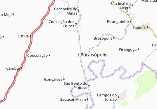 Carte-Plan Paraisópolis