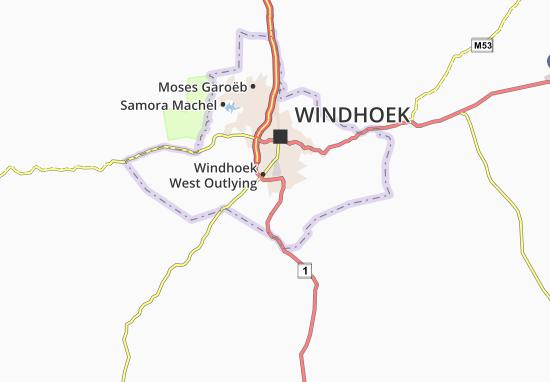 Cimbebasia Map