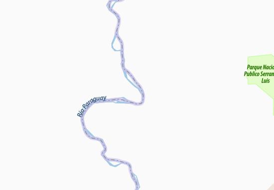 Puerto Pinasco Map