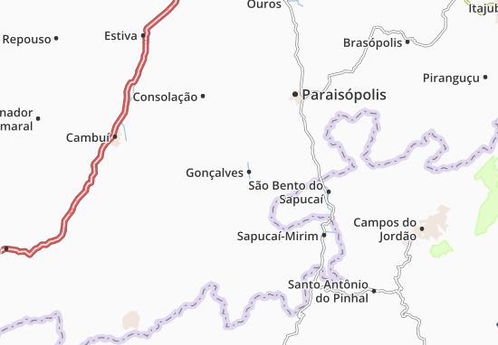Carte-Plan Gonçalves