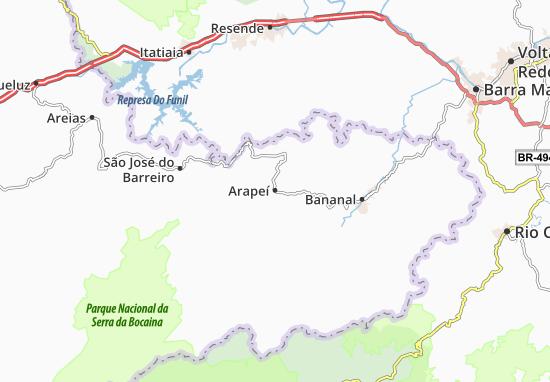 Arapeí Map