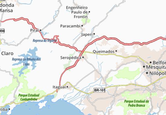 Seropédica Map