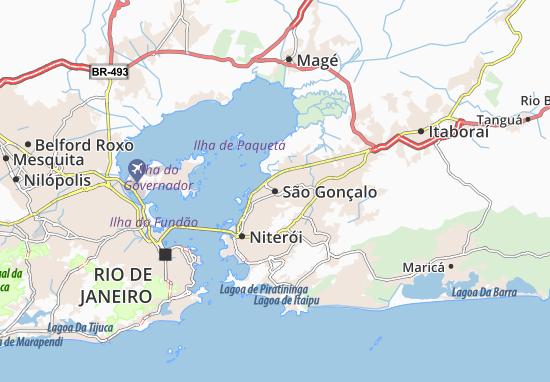 Mappe-Piantine São Gonçalo