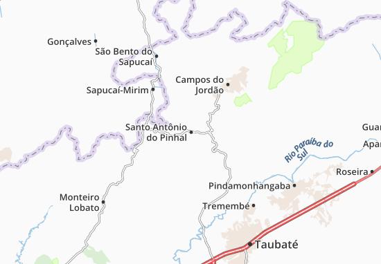 Mapas-Planos Santo Antônio do Pinhal