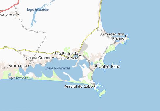 Mappe-Piantine São Pedro da Aldeia