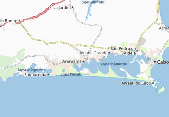 Carte-Plan Araruama
