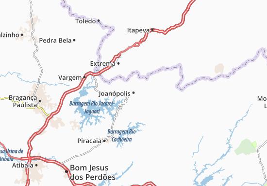 Mappe-Piantine Joanópolis