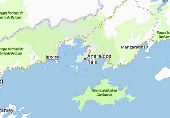 Angra dos Reis Map