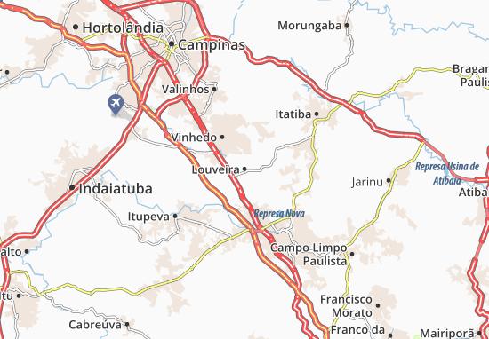 Louveira Map