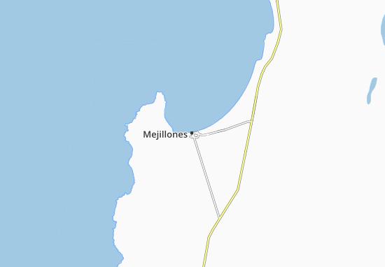 Mapa Plano Mejillones