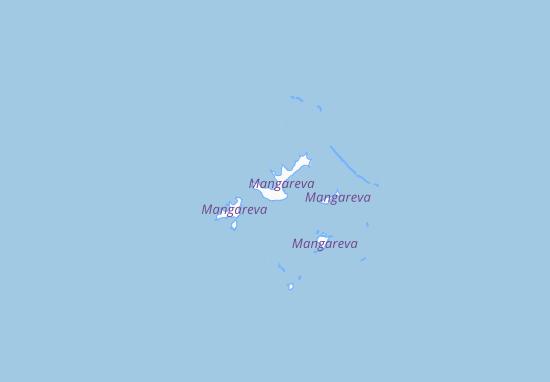 Mapa Plano Rikitea