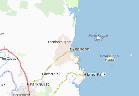Yeppoon Map