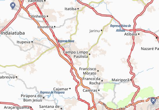 Várzea Paulista Map