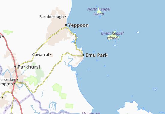 Emu Park Map