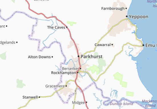 Carte-Plan Parkhurst
