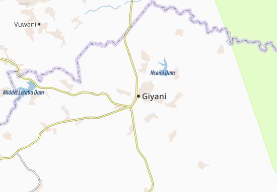 Carte-Plan Giyani