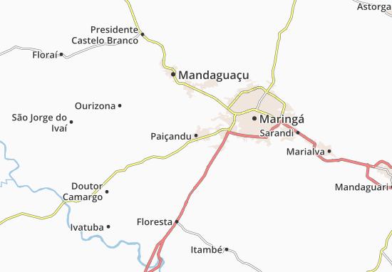 Paiçandu Map