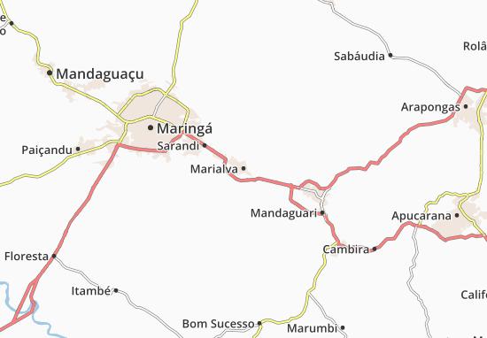Marialva Map