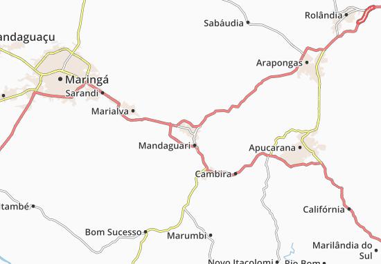 Mandaguari Map